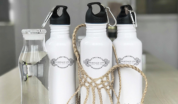 heritage line-magazine-social responsiblity-water bottle-artilcle
