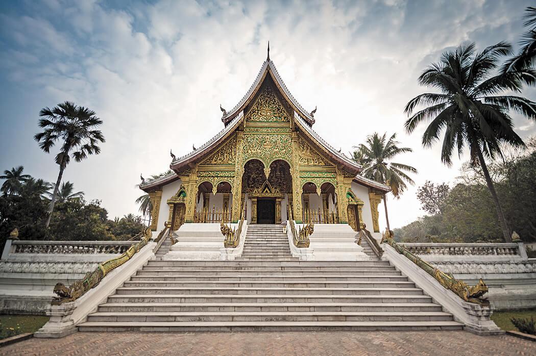 Wat Xiengthong temple in Luang Prabang, Laos