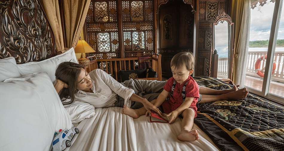 Quality family time in Anawrahta's Royal Suite