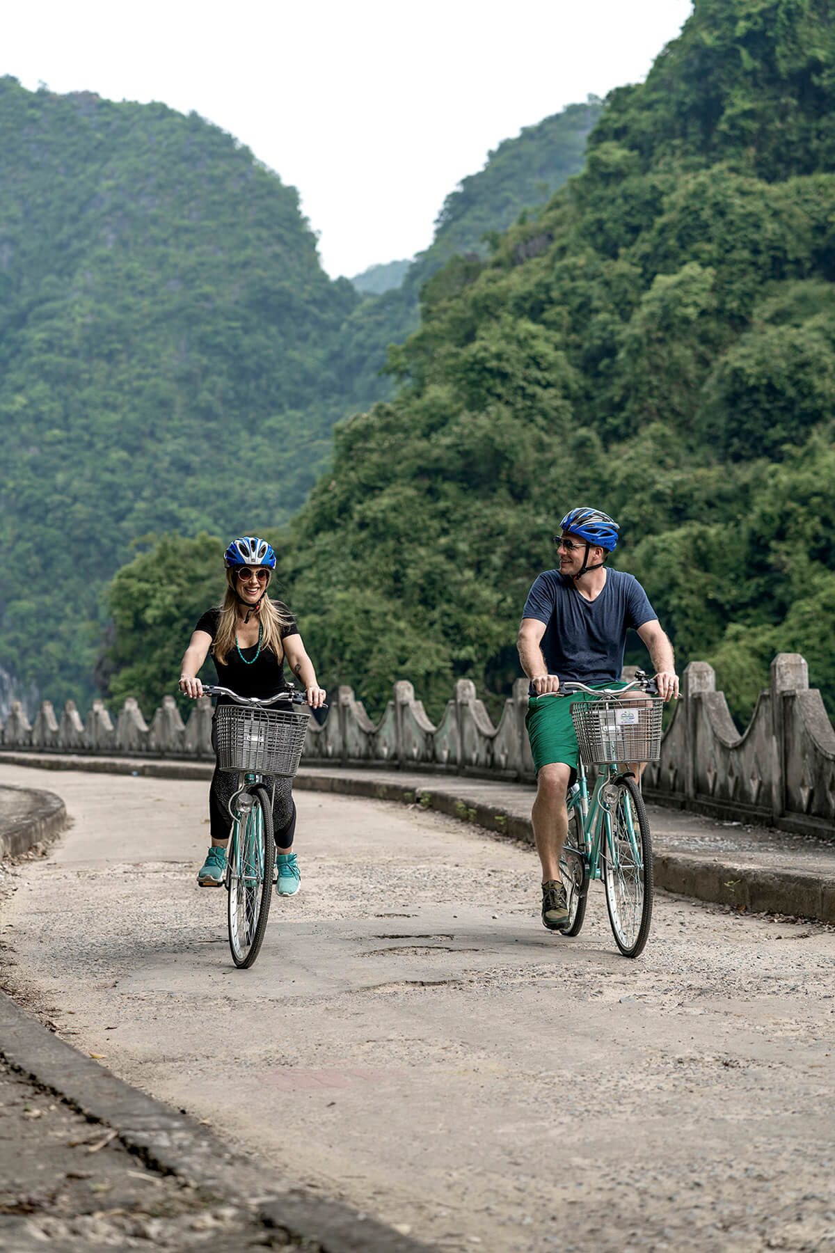 Explore Cat Ba Island National Park on a cycling excursion