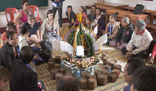 Baci Ceremony in Laos