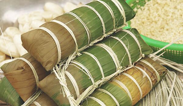 Banh Chung for Vietnamese Lunar New Year